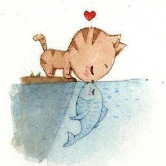 Mèo yêu cá 3