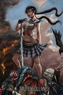 Nữ Chiến Thần Hắc Bao Đàn